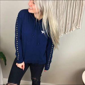 Victoria's Secret Pink navy sweatshirt blue